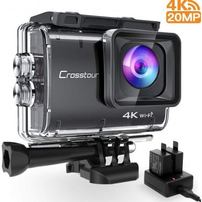Crosstour CT9500 Nativo 4K50FPS Action Cam 20MP WiFi Action Camera
