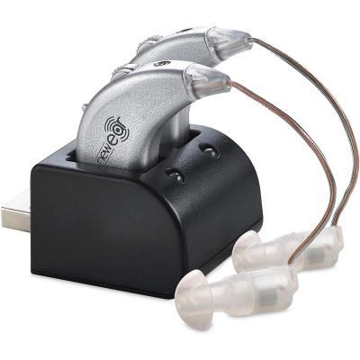 Amplificatori Digitali dell Udito  Coppia di Amplificatori Personali dell Udito BTE Ricaricabili