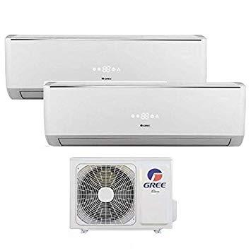 Climatizzatore inverter dual split BORA 9000 + 9000 Btu