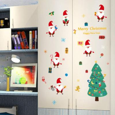 GCDXDL Natale Wall Stickers Stickers