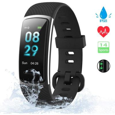 KUNGIX Orologio Fitness Tracker Uomo Donna Smartwatch Android iOS Cardiofrequenzimetro da Polso Fitness Activity Tracker Smart Watch 0