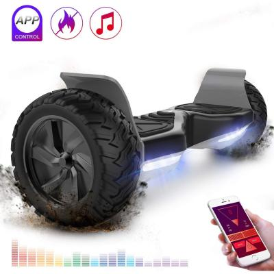 RCB Hoverboard Scooter Elettrico Fuoristrada Scooter 8.5 Hummer LED App Bluetooth Integrato