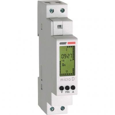 Vemer VE758100 MICRO D Interruttore Orario Digitale